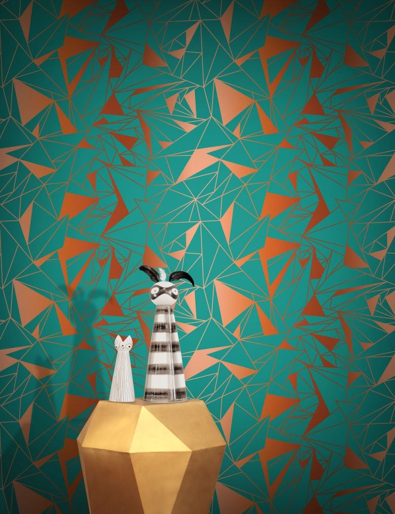 The Striped Wallpaper Design
