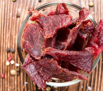 Snack on Delicious Dried Meat from Jim's Jerky