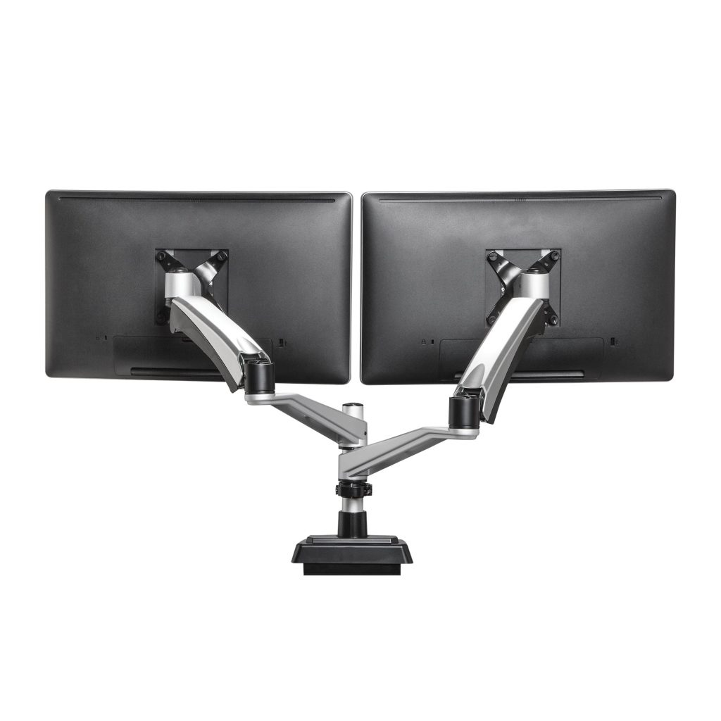 MOVI's dual monitor arm